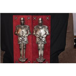 HAND MADE BY MATTHEW ORANTE 1969 METAL - 2 KING OF LITHUANIA 12TH 13TH & 14TH CENTURY