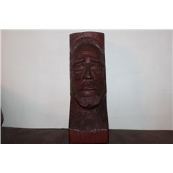 """EXCELLENT WOOD CARVING BY MATTHEW ORANTE 1940 - 10"""""""
