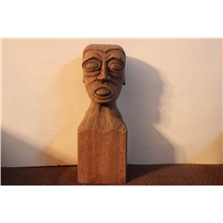 1948 SIGNED WOOD CARVING BY MATTHEW ORANTE