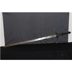 """61"""" LITHUANIAN SWORD WITH HAND GRIP FROM MATTHEW'S ESTATE"""