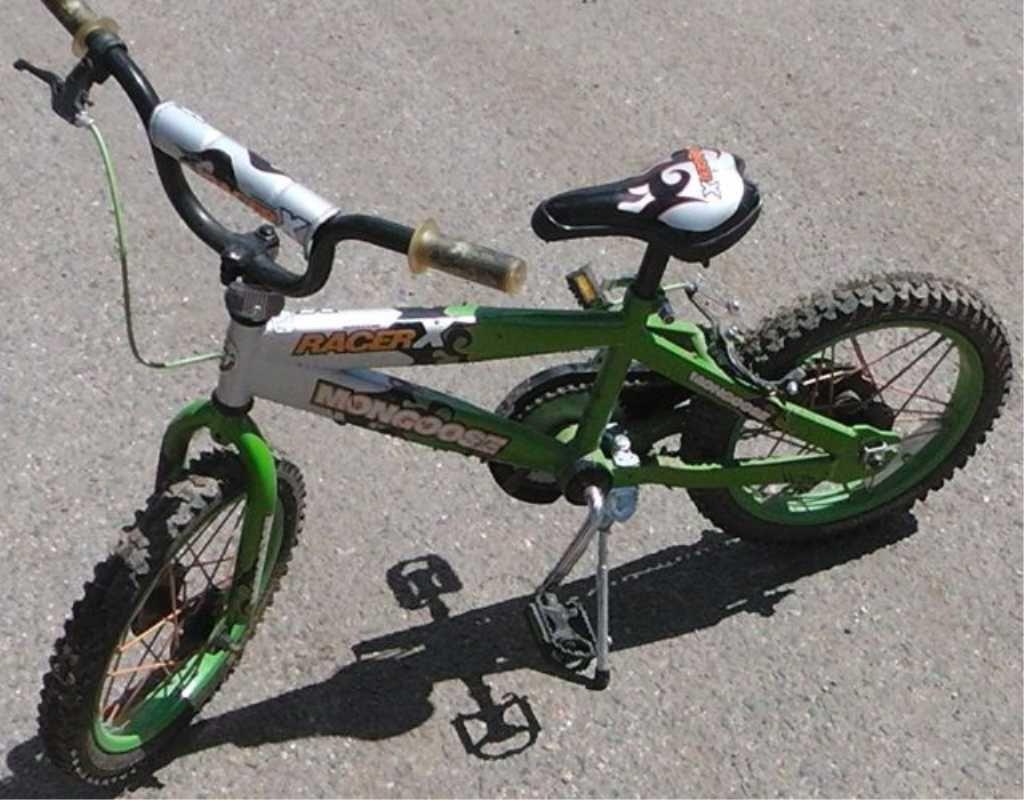 Green Mongoose Racer X Boys Bike