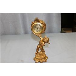 GERMAN BRONZE CUPID CLOCK