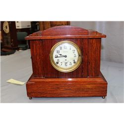 "SETH THOMAS 8 DAY CLOCK - SONORA CHIMES - 15"" WIDE - 7"" DEEP - 13.25"" TALL"