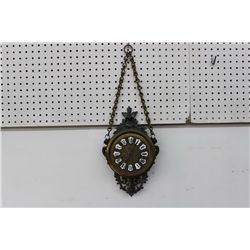 EXCELLENT DECORATIVE HANGING WALL CLOCK