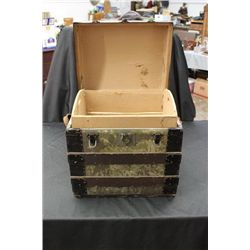 UNUSUAL SIZE TRUNK WITH INSERT 17 1/2 X 18