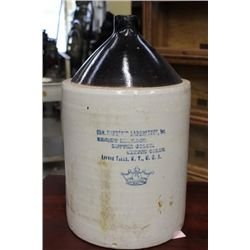 5 GALLON JUG FROM LITTLE FALLS N.Y.