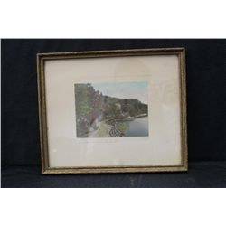 "PRINT ""SHORE DRIVE, LAKE MOHAWK"" BY SAWYER"
