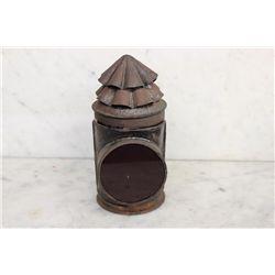 EARLY BIKE / BUGGY TIN KERO LAMP
