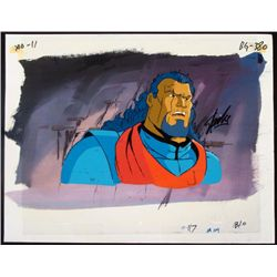 Stan Lee X-Men Animation Original Signed Cel Bishop