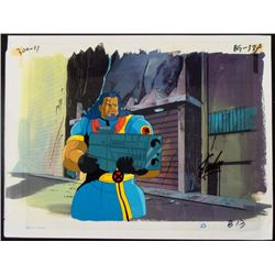 Original Production Bishop Signed Cel X-MEN Stan Lee