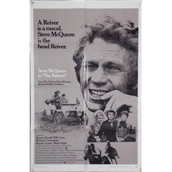 Steve McQueen The Reivers Movie Poster