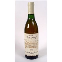 1981 Napa Valley Chardonnay Joseph Phelps Wine Bottle
