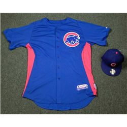 Chicago Cubs Ramon Ortiz Batting Practice Jersey Hat