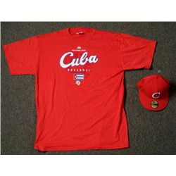 World Baseball Classic Cuba T-Shirt and Fitted Hat