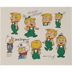 Elroy Jetson Signed Original Model Cel Animation Art
