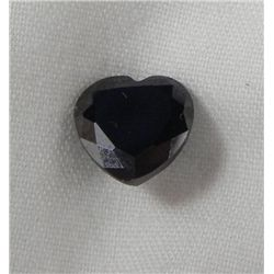 3.15 Ct. Natural Zircon Black Heart Gemstone