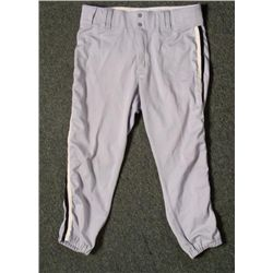 Game Worn Chicago White Sox Road Pants Joe Nossek