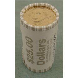 1 Bank Roll UNC 2007-D Washington Presidential Dollars