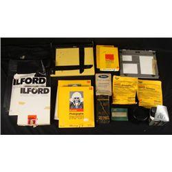Vintage Photographic Lot Detol, Enlarging Meter, Paper