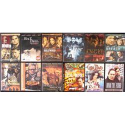 12 Police Cop Mafia Dramas DVDs -Departed- Black Dahlia