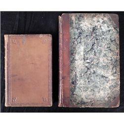 2 Antique Books Early American History Milburn, Penn