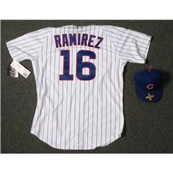 Authentic Chicago Cubs Aramis Ramirez Jersey and Hat