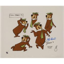 Yogi Bear Signed Original Ltd Model Cel Animation Art