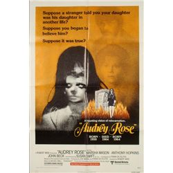 Audrey Rose Original 1 Sh Horror Movie Poster 1977