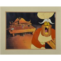 Rock-A-Doodle Original Animation Production Cel 2 Birds