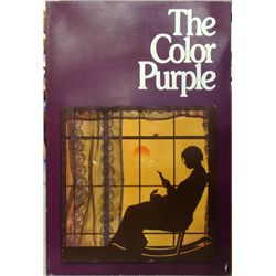 The Color Purple Original Movie Production Sign