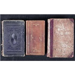 3 Antique HC Religion Books Mason Self Knowledge 1822