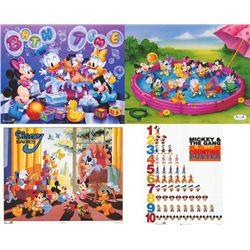 4 Disney Prints: Mickey Mouse Babies, Counting