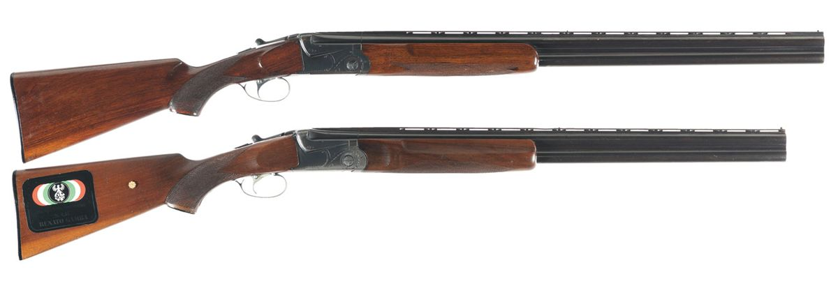 Two SKB Model 500 Over/Under Shotguns