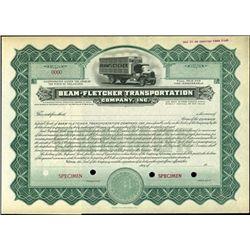 Beam-Fletcher Transportation Company, Inc.