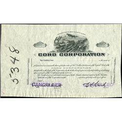 Cord Corporation - Automobile Proof.