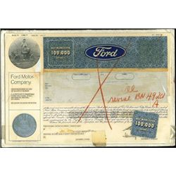 Ford Production File,