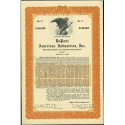 DuPont American Industries, Inc. Bond,