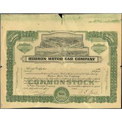 Hudson Motor Car Company Proofs