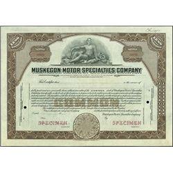 Muskegon Motor Specialties Company.