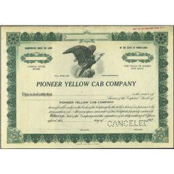 Pioneer Yellow Cab Company,