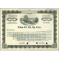 The P.D.Q. Co.,