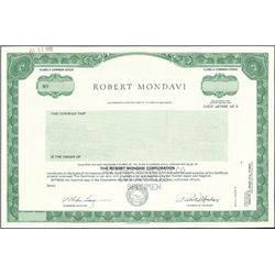 Robert Mondavi Corporation,