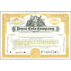 Pepsi-Cola Co. Specimen and Proof Stocks (2),