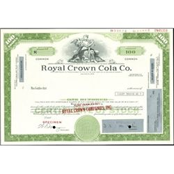 Royal Crown Cola Co. Specimen Stocks