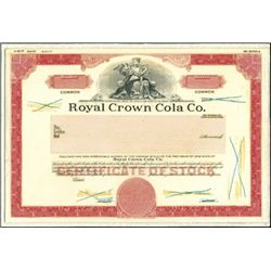 Royal Crown Cola Co. Mockup Model.