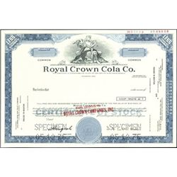 Royal Crown Cola Assortment (4),