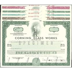 Corning Glass Works Registered Bond Assortment,