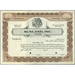 Florida Specimen Stock Certificate Assortment (5),