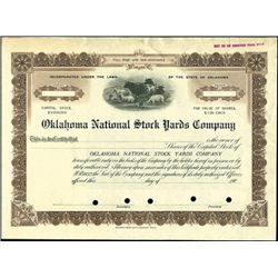 Oklahoma National Stock Yards Company.