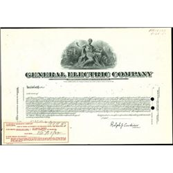 General Electric Company Unique Production File wi